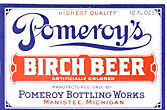 Pomeroy's Birch Beer Label
