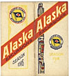 Alaska Excursions. Season 1916. Totem Pole Route Pacific Coast Steamship Co.
