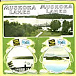 "Muskoka Lakes. ""Highlands Of Ontario"" Canada. The Finest Summer Resort Region In America. Easy Of Access. One Thousand Feet Above Sea Level, Good Hotel Accommodation by Grand Trunk Railway System"