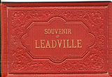 Souvenir Of Leadville  Louis  Glaser [Photographer]