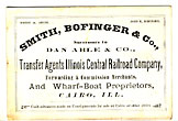 Trade Card. Smith, Bofinger …