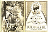 The Most Becoming & Attractive Shapes In Fine Chips, Milans, Fancy Braids. Introduced By H. O'Neill & Co by H. O'Neill & Co
