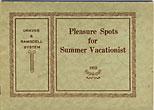 Pleasure Spots For Summer Vacationist Graves & Ramsdell System