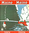 Maine. Camping. Canoeing. . [Maine Development Commission]