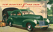 New Mercury 8 For 1939 by Ford Motor Company