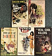 Five In A Row Signed By Chester Himes: For Love Of Imabelle, Real Cool Killers, The Crazy Kill, The Big Gold Dream, All Shot Up by  Chester Himes