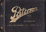 Paterson Six, 1920, Model …