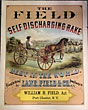 Color Broadside, The Field Self Discharging Rake, Best In The World - Manufactured By Lane, Field & Co., Poughkeepsie, N. Y. by  Field & Company Lane
