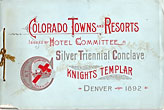 Colorado Towns And Resorts Hotel Committee, Silver Triennial Conclave, Knights Templar