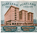 Multnomah Hotel, Fourth And ...