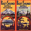 Puget Sound Hotels, Washington. The Great Pacific Northwest by Puget Sound Hotels