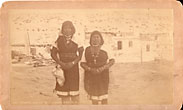 Photograph Of Two Pueblo ...