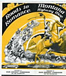 Roads To Romance. Montana Highway Map. 1940 Montana State Highway Commission