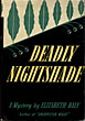 Deadly Nightshade. by  Elizabeth. Daly
