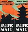 Pacific Mail: America, Manila, Honolulu, Russia, Japan, China, India. Around The World By The Pacific Mail Steamship Co. (Operating The Largest Steamers On The Pacific) by Pacific Mail Steamship Co