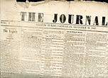 The Seguin ,Texas Journal Newspaper, Saturday, October 26, 1867 by The Journal