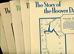 The Story Of The Hoover Dam And The Boulder Dam In Five Volumes by Various Authors